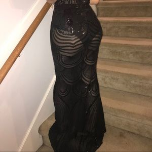 custom made prom dress, fits size 0-2